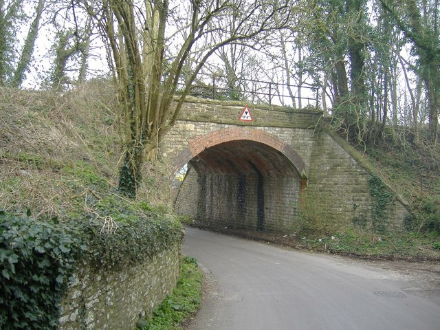 Railway bridge, Cloud Hill