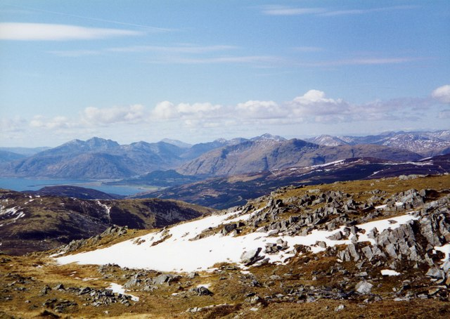 View West from Mam na Gualainn
