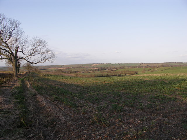 View towards Braybrooke.