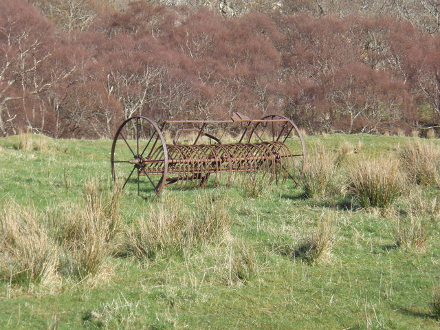 Farm machinery at Tollie