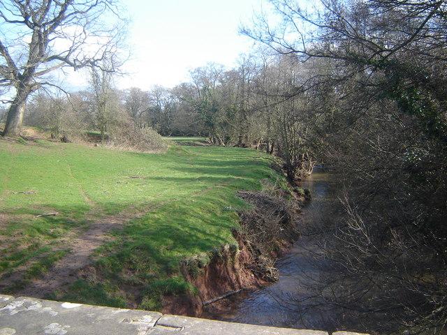 River Trothy from Llwyn-deri Bridge