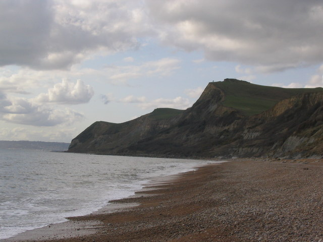 Thorncombe Beacon looking from Eype's Mouth