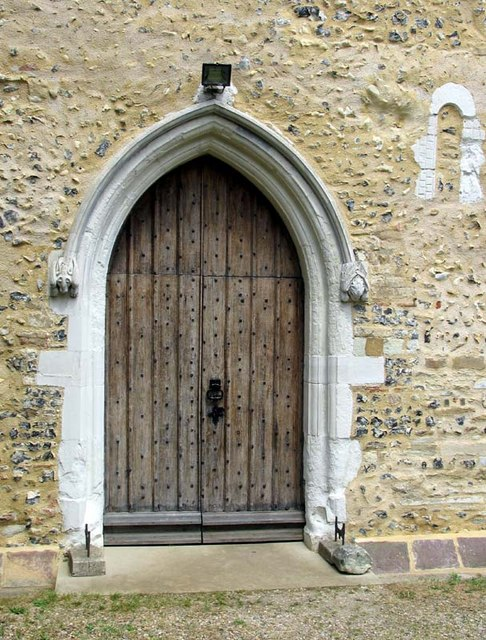 St Mary, Stanstead St Margaret, Herts - Doorway