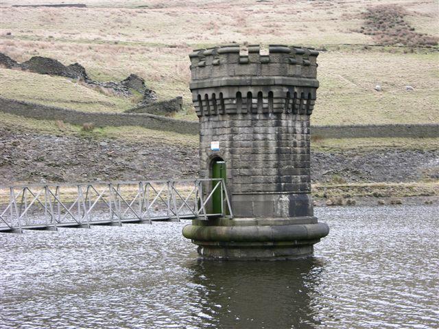 Tower, Waugh Well reservoir