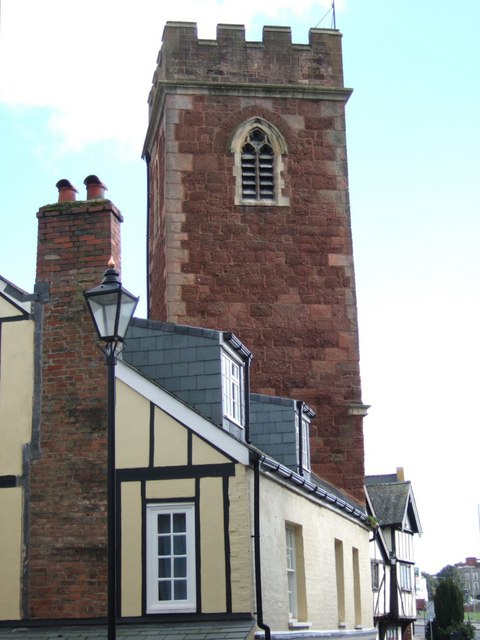 St Mary Steps church tower, Exeter