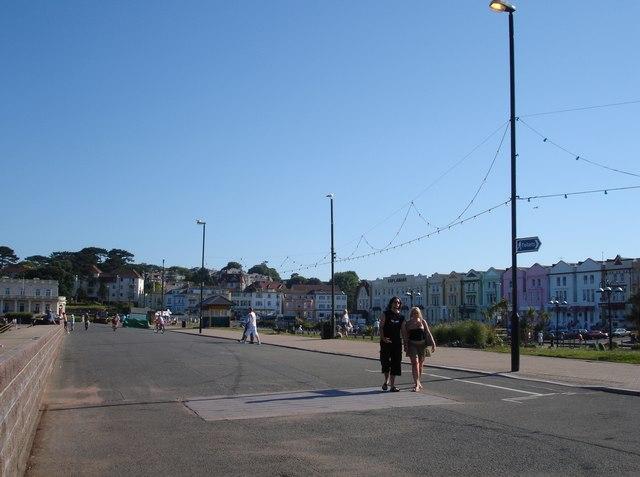 Promenade near Paignton Pier