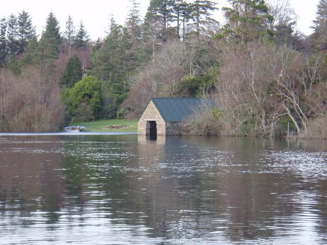 Inveran Boat House across the River Ewe