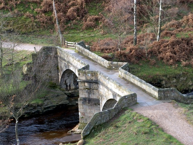 Slippery Stones Pack Horse Bridge