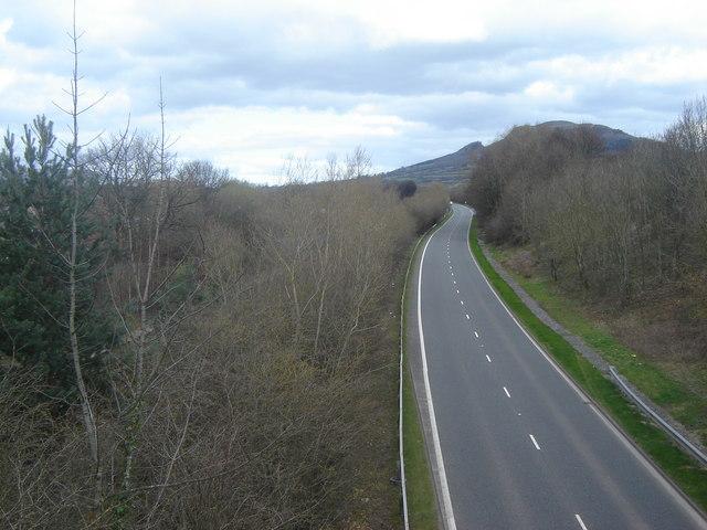 A465 from B4233 bridge