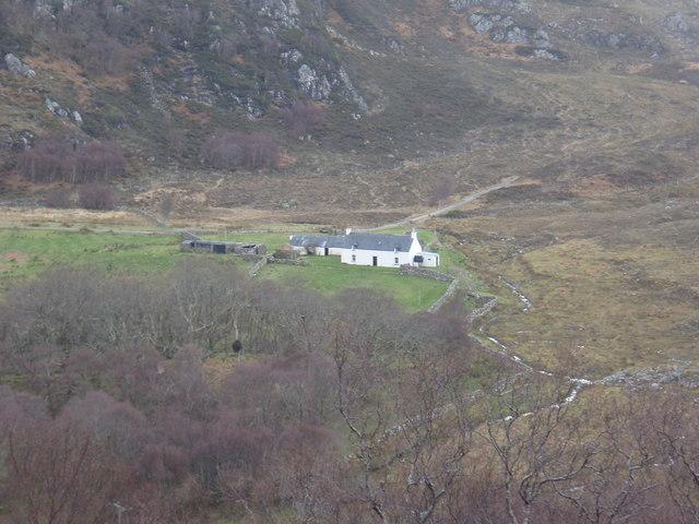 Tollie Farm from Aird na Ban-fhaidhe