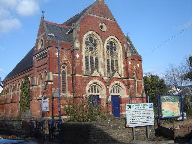 Redundant church, Market Street, Abergavenny