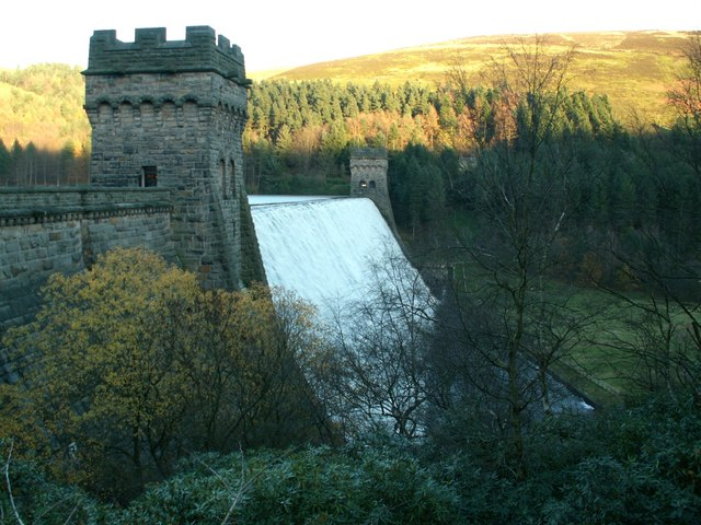 Derwent Dam - West and East Tower