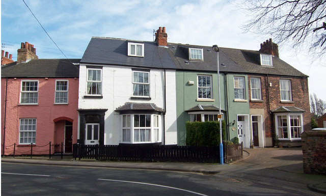 Houses on Swinegate, Hessle