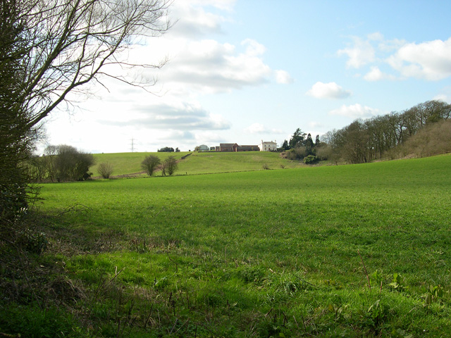 Pasture and Little Moor Farm, near Pattingham, Staffordshire