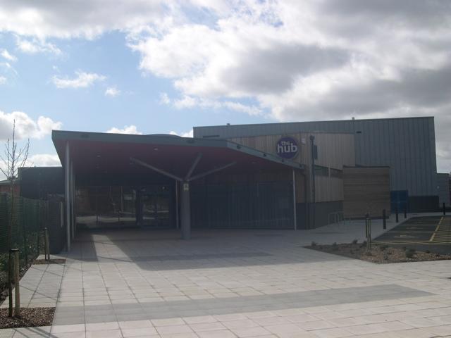 Verwood's new Community Centre, 'The Hub'
