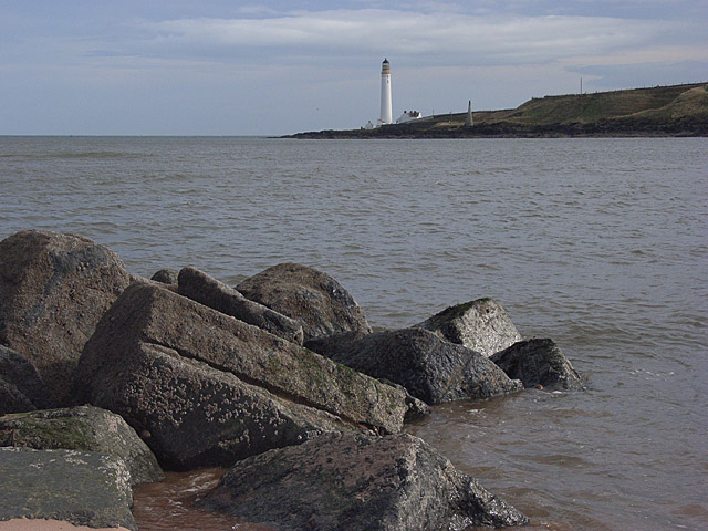 The mouth of the River South Esk