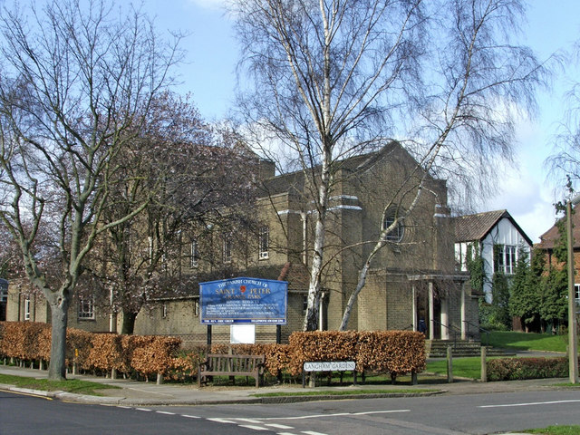 St Peter's Church, Vera Avenue, Grange Park, N21
