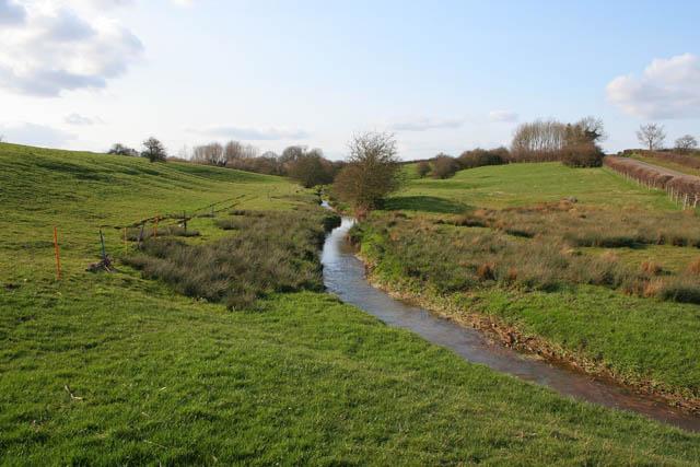 Brook between Pilton and Morcott
