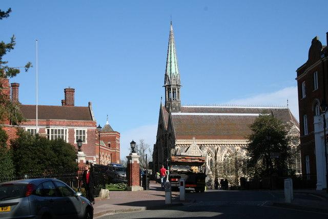 The Chapel, Harrow School, Middlesex