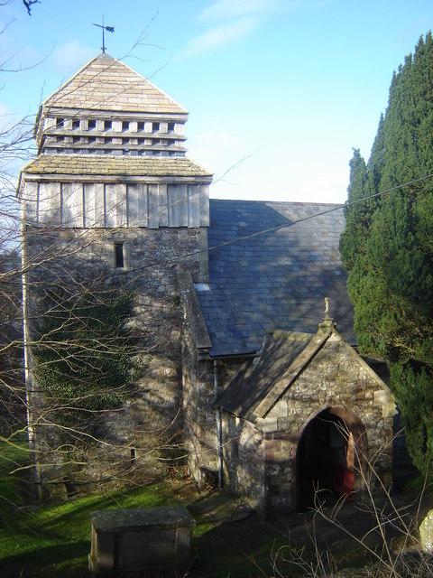 St David's church, Llanddewi Rhydderch