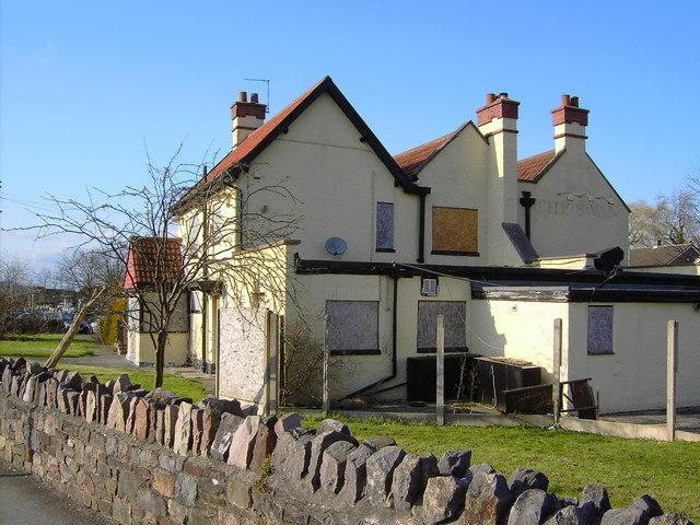 The former Swan pub, Station Road, Yate, Bristol