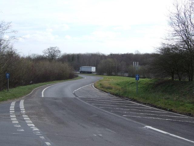 Slip Road onto A11