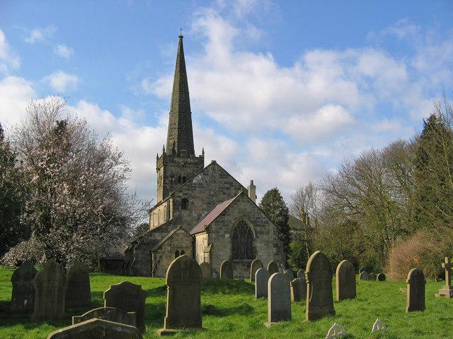 Huggate Church