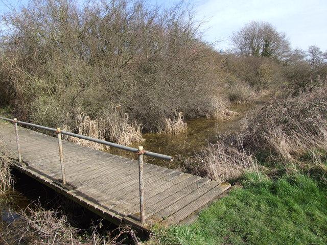 Footbridge over Moat