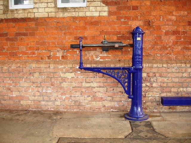 Weighing Machine, Taunton Railway Station