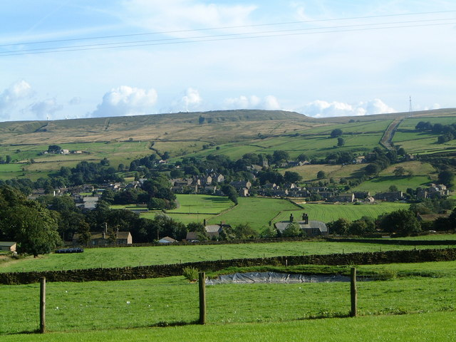 Oxenhope from Well Head Cottage