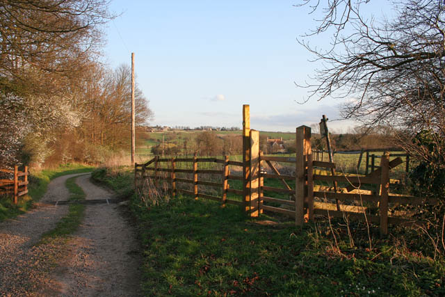 The Jurassic Way leading to Kilthorpe Grange