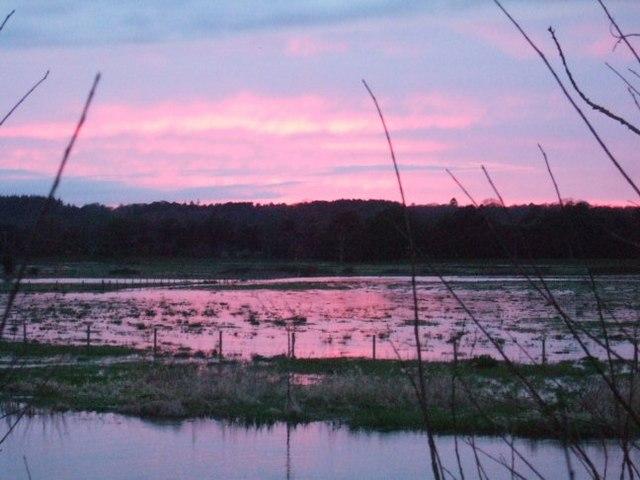 River Avon at Sunset