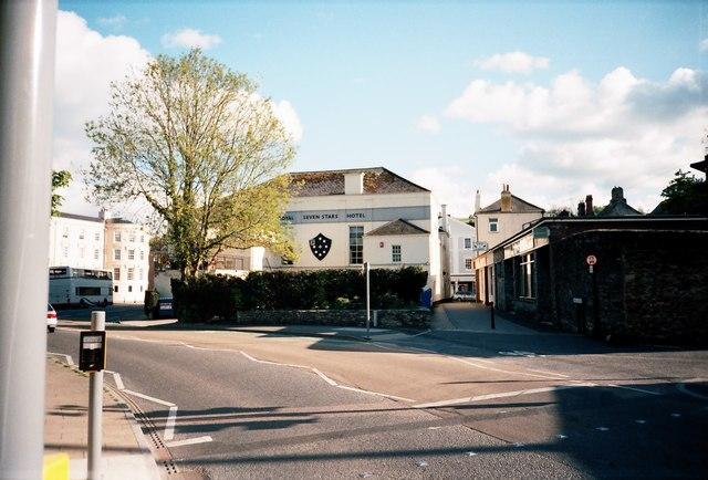 Rear of the Royal Seven Stars Hotel, Totnes