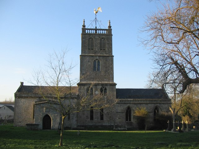 Priston parish church