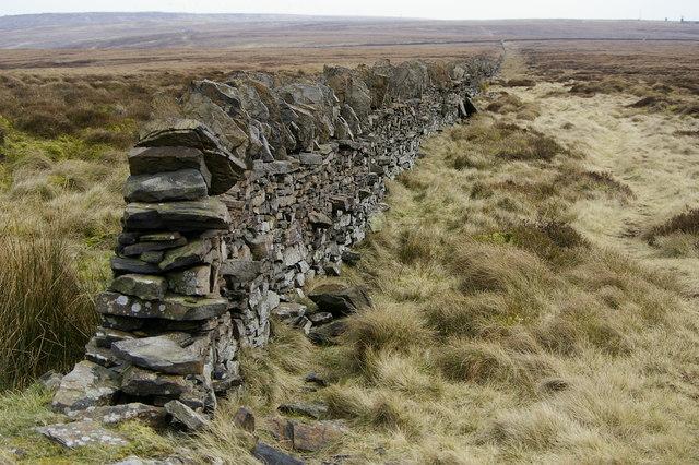 Wall along Deep Nitch