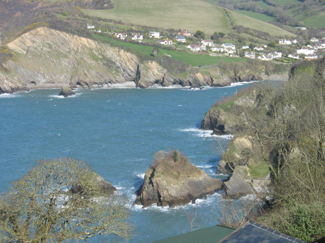 Sandy Cove at High Tide