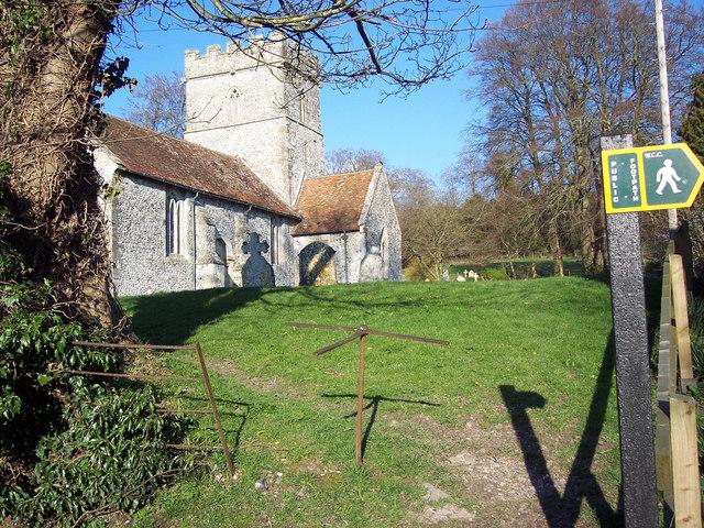 Turnstile gate at St Peter's, Winterbourne Stoke