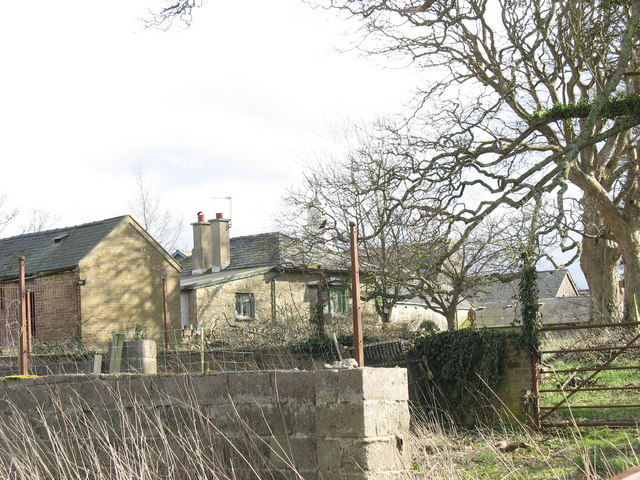 The zoo block and other outbuildings at the back of Faenol Hall