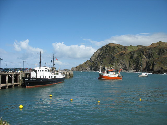 Ferry to Lundy Isle  Ilfracombe