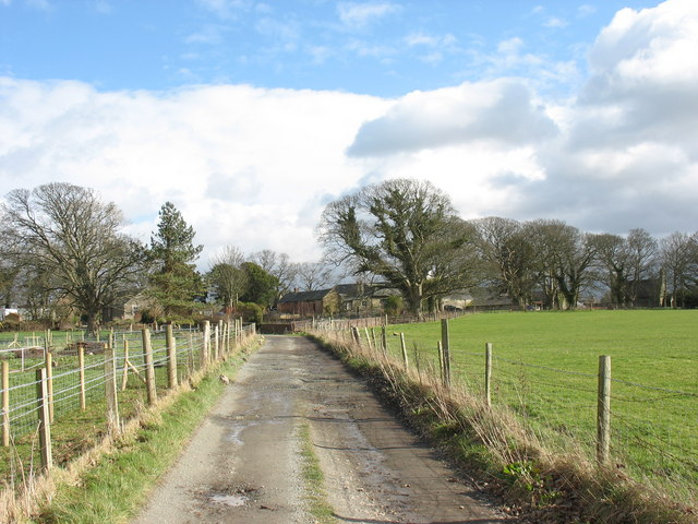 The Faenol buildings from the Glan Faenol lane