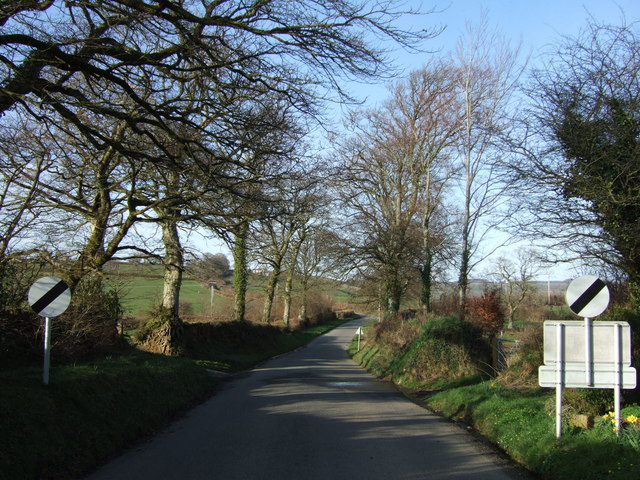 Lane to Voulsdon Cross