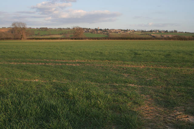 Farmland near Ketton