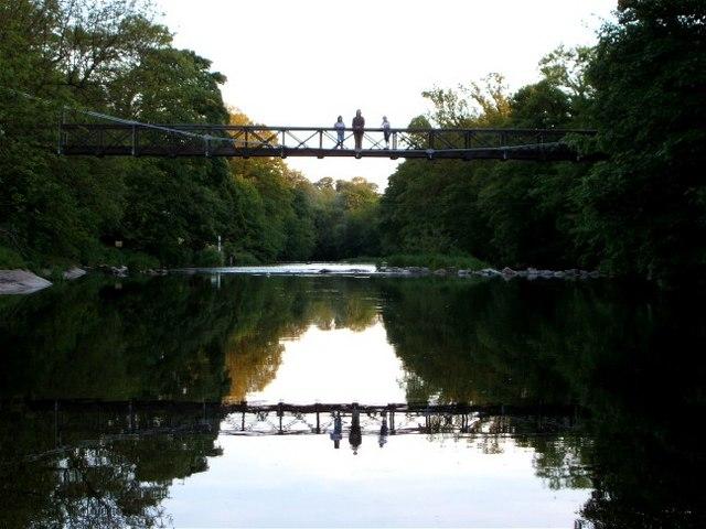 Wilson Place Footbridge Nr Sedgwick