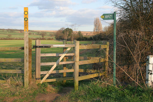 Kissing gate on the Jurassic Way