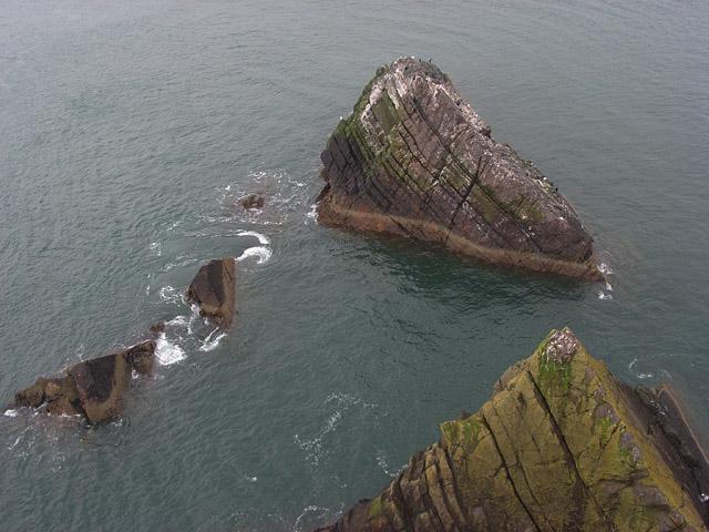 Rocks below Fast Castle