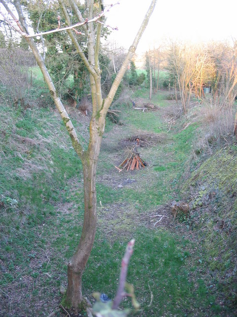 Old railway trackbed