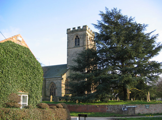 St. Andrew's Church, Bainton