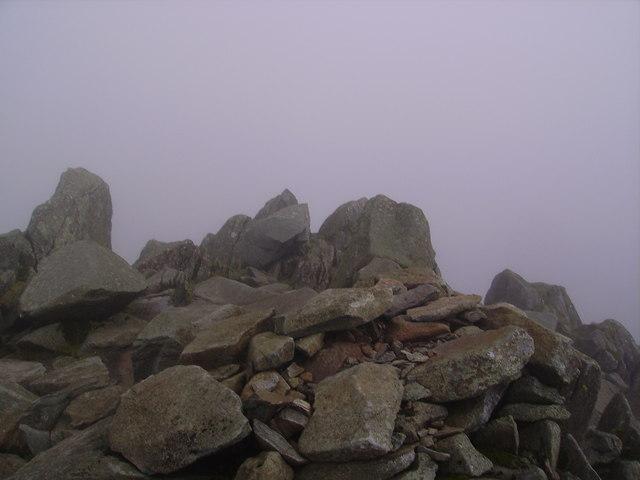 Summit, Bowfell