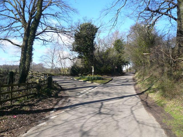 Pearce Lane  Junction with Watson Lane