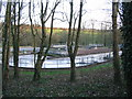 ST7058 : Sewage works off Withyditch Lane by Phil Williams
